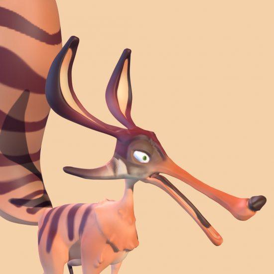 Desert Fox Closeup